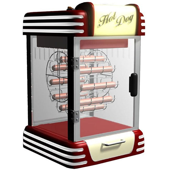 nostalgia electrics retro ferris wheel hot dog warmer 11958954 shopping. Black Bedroom Furniture Sets. Home Design Ideas