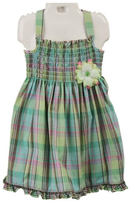 Good Lad Toddler Girl's Plaid Sundress