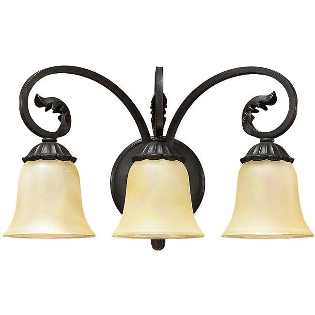Windsor Manor 3-light Vanity Lighting Fixture