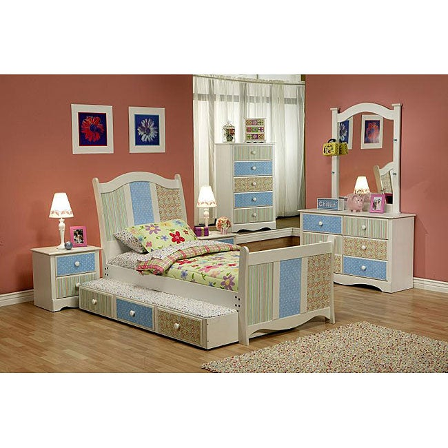 Perry-winkle 5-piece Kid's Bedroom Set