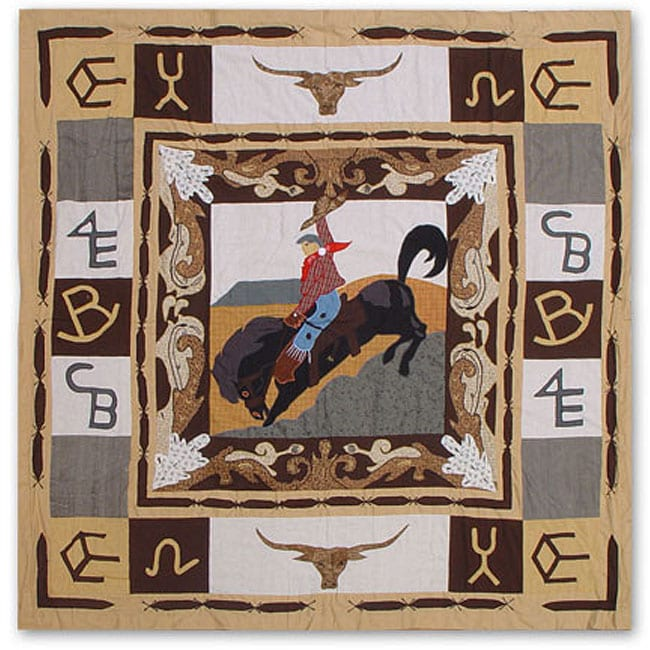 Rodeo Brand Shower Curtain