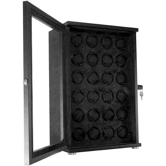 24-slot Watch Winder Display Case