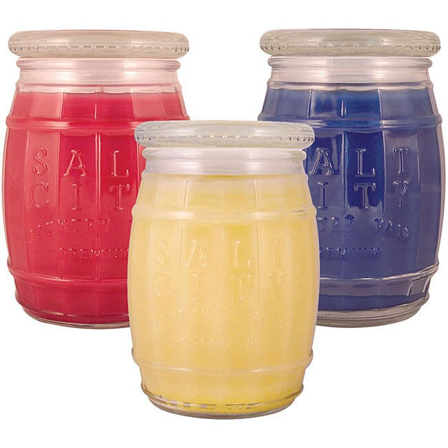 Salt City Candle Americana 4-ounce Candle Gift Set (Pack of 3)