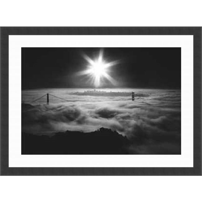 Jesse Kalisher 'San Francisco Sunrise' Framed Art Print