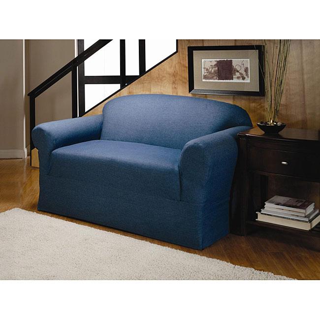 Denim Sofa Slipcover