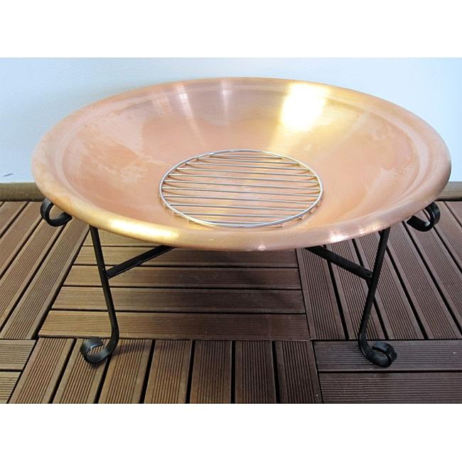 Copper 27-inch Firepit
