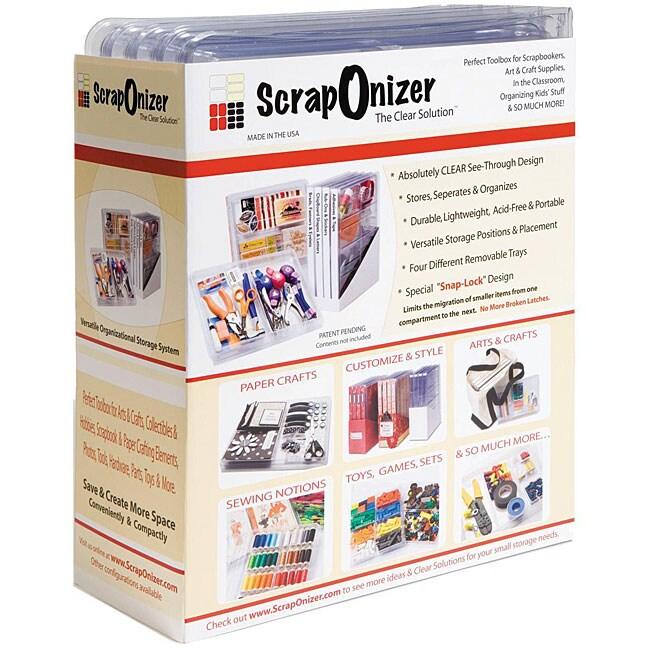 Scraponizer 4-case Toolbox Organizing System
