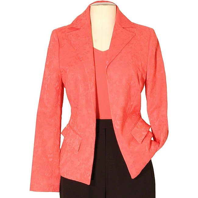 Austin Reed Women's Plus Size Jacquard Blazer
