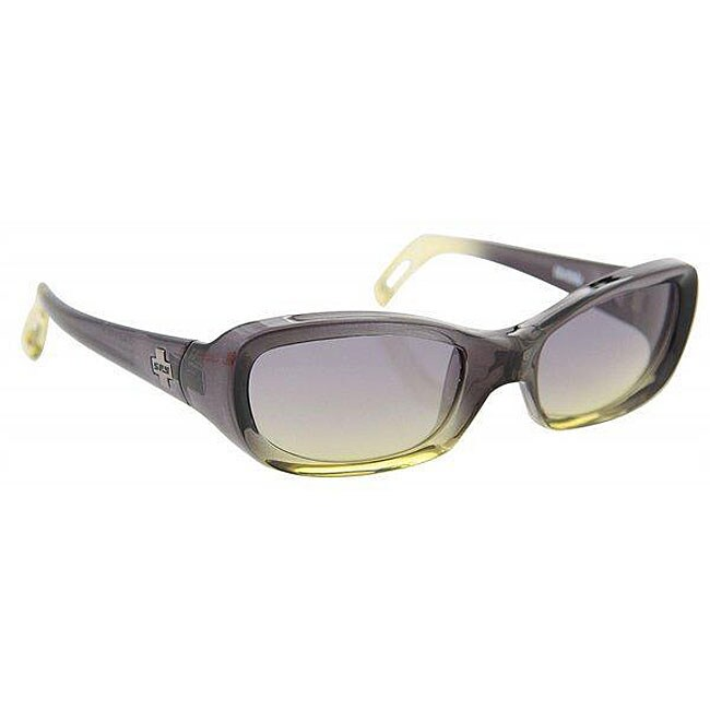 Spy Cosmik Women's Black/ Green Fade Sunglasses