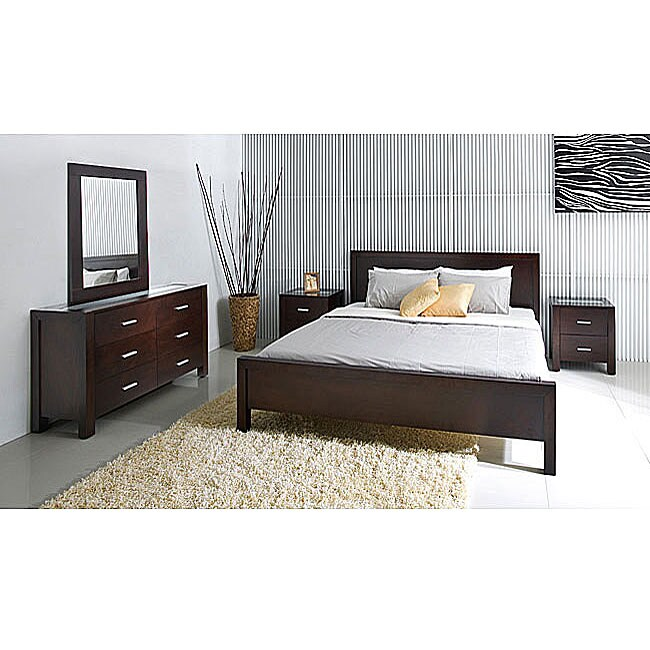 living hamptons 5 piece queen size platform bedroom set overstock