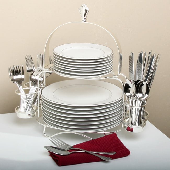 Wallace 'Xavier' 51-piece Buffet Set - 12000790 ...