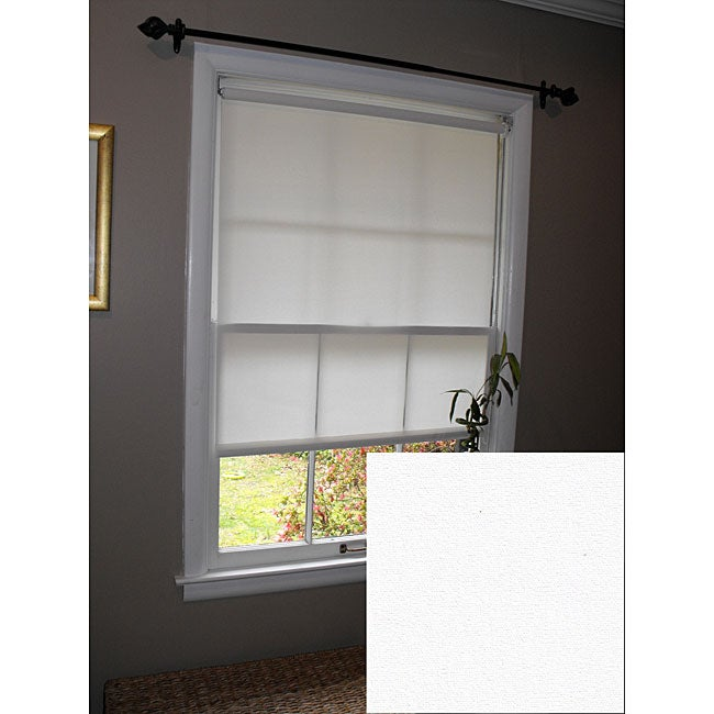 Pure White Roller Shade (66 in. x 72 in.)