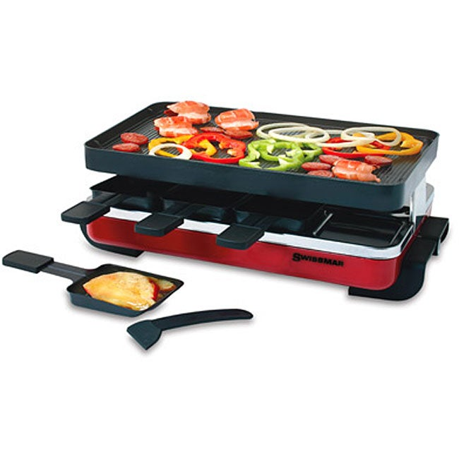 Swissmar 8-person Classic Raclette Party Grill