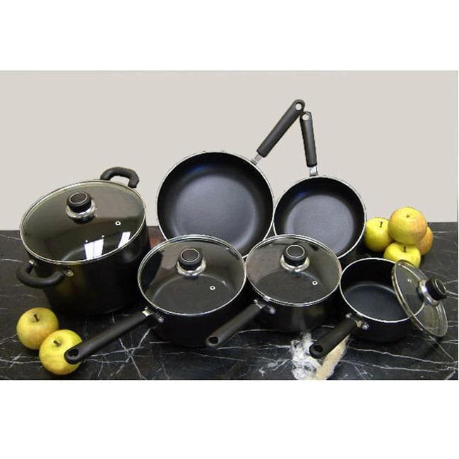 Nonstick 10-piece Induction Cookware Set