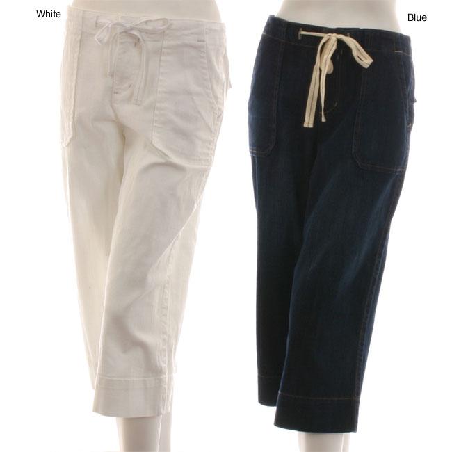Style and Company Women's Denim Capris