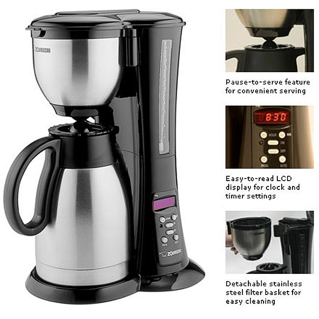 Coffee Maker Zojirushi Review : Zojirushi Fresh Brew Thermal Carafe Coffee Maker 10-cup - 12023173 - Overstock.com Shopping ...
