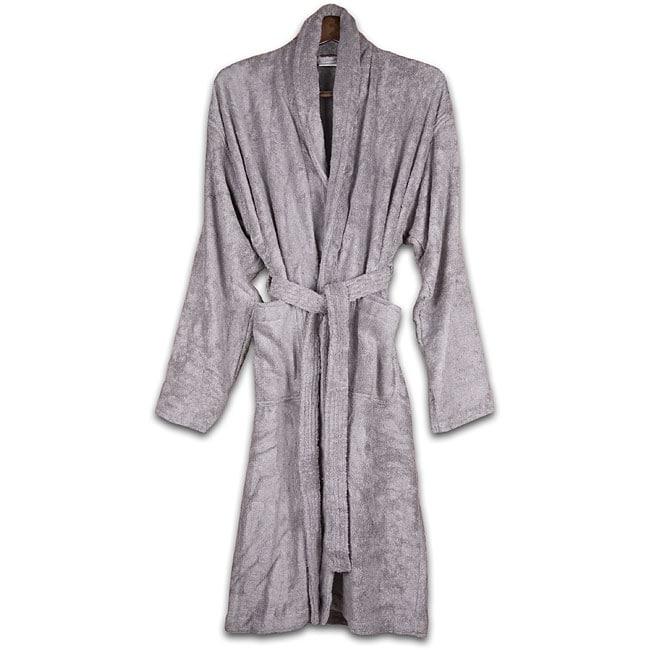 Grey Rayon from Bamboo Bath Robe