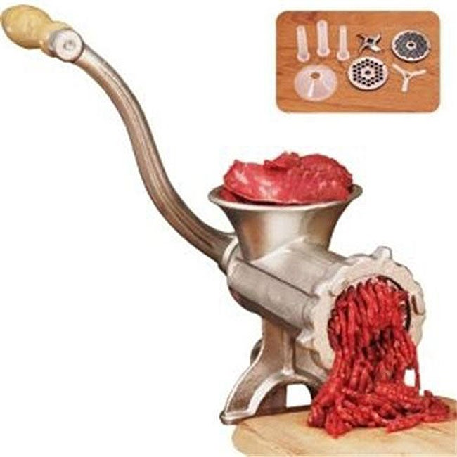 Weston Deluxe Heavy-duty Number 10 Manual Tinned Meat Grinder at Sears.com