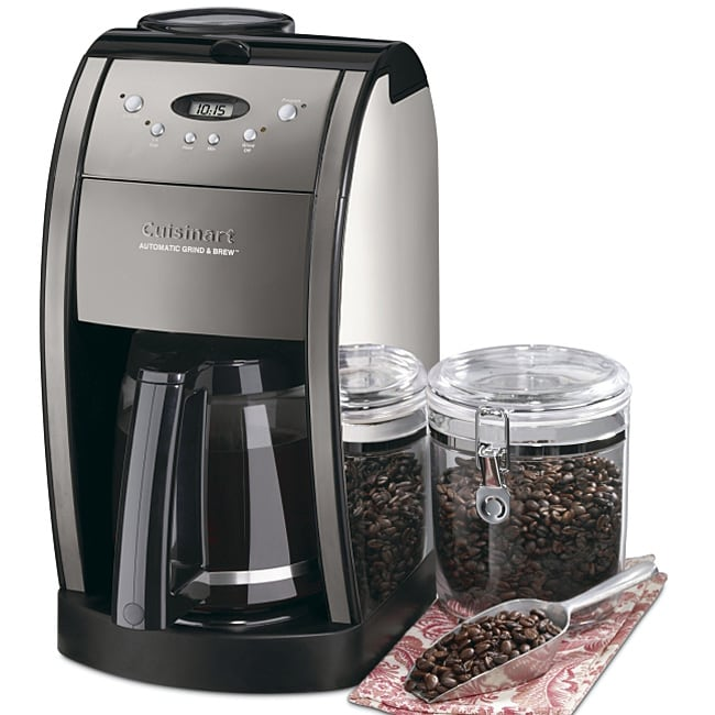 Cuisinart Automatic Grind And Brew Coffee Maker Problems : Cuisinart DGB-600BC Grind and Brew Coffee Maker - 12034029 - Overstock.com Shopping - Great ...