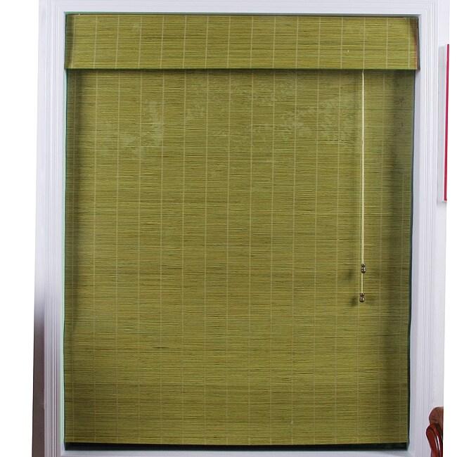 Shanghai Bamboo Roman Shade (73 in. x 98 in.)