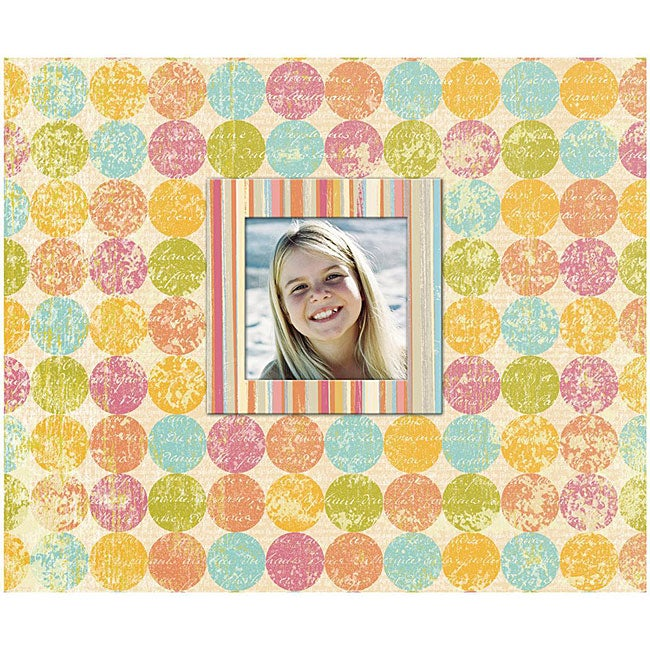 K & Company Perfect-bound 'Dottie' Photo Album/ Scrapbook at Sears.com