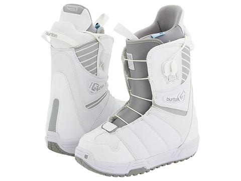 Burton Mint 09 W White/Light Grey Boots