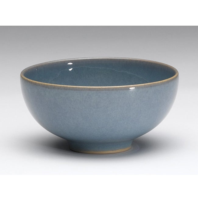 Denby Azure Rice Bowl 12078113 Overstock Com