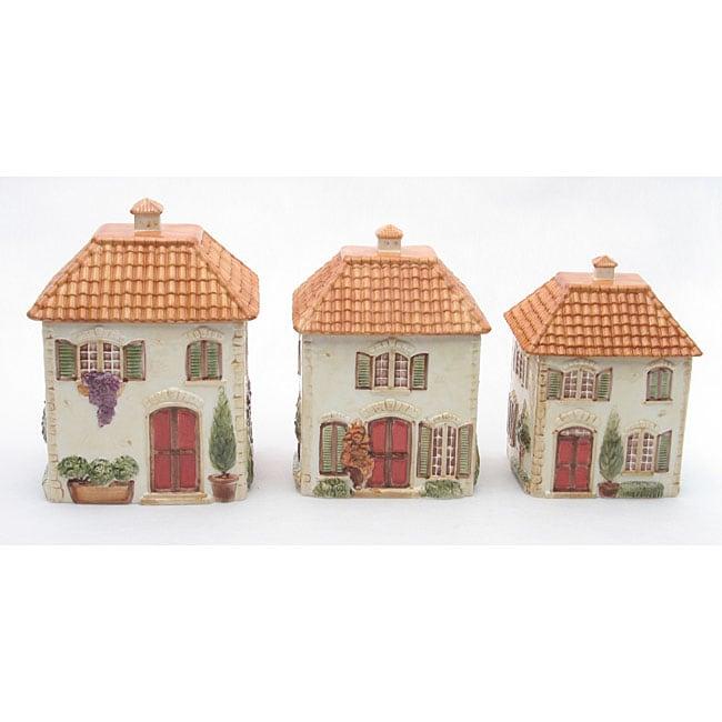 Certified International Toscana Villa House 3 piece