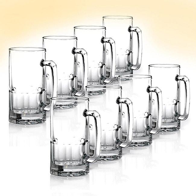 Anchor Hocking Premium Beer Mugs (Pack of 8)