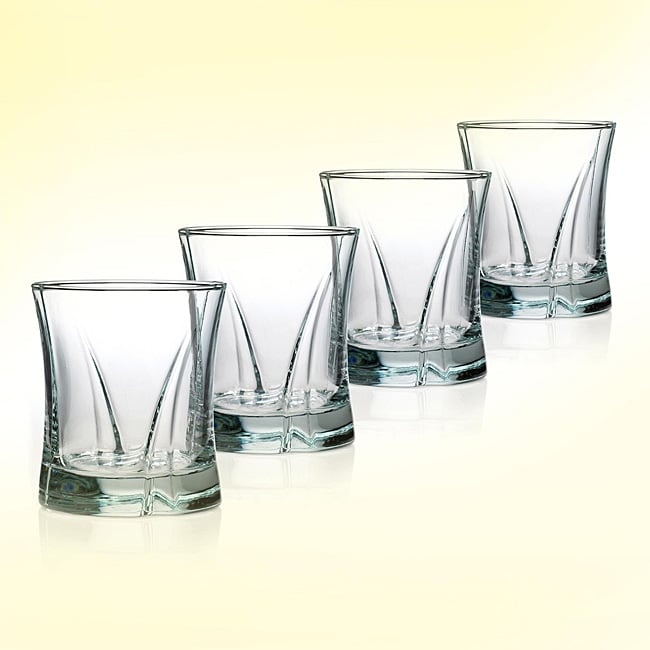 Anchor Hocking 'On the Rocks' Lovelite Glasses (Set of 4)