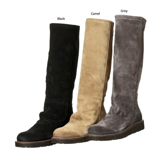 bronx s reno knee high suede boots 12078657
