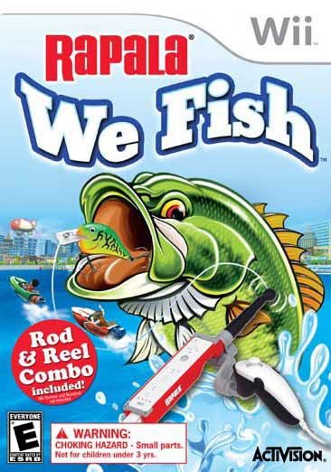Wii - Rapala: We Fish with Rod