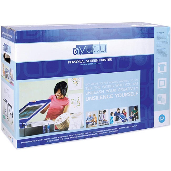 Provo Craft Yudu Silk Screener Kit