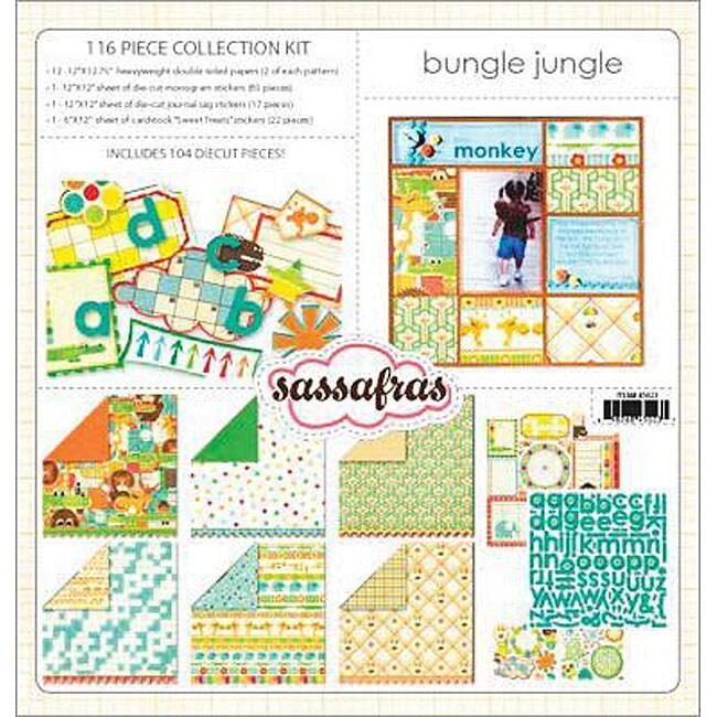 Sassafras Lass Bungle Jungle 116 piece Collection Kit