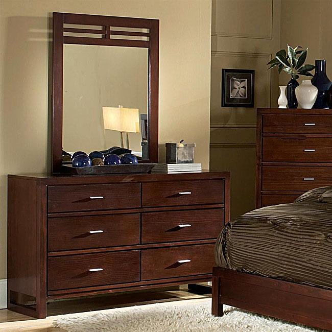 Ferris 2-piece Dresser and Mirror Bedroom Set