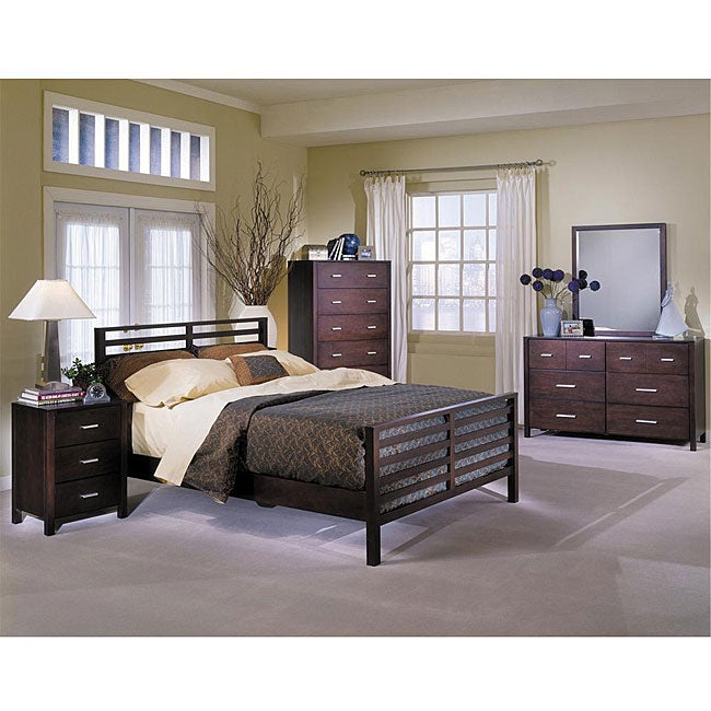 soho 5 piece queen bedroom set 12090493