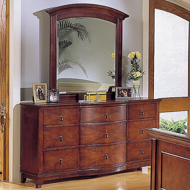 Corrine Dresser and Mirror Set