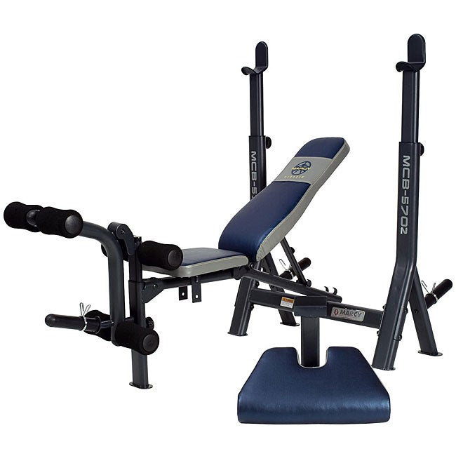 Marcy Mid Size Weight Bench 12090691 Shopping Great Deals On Weights Machines
