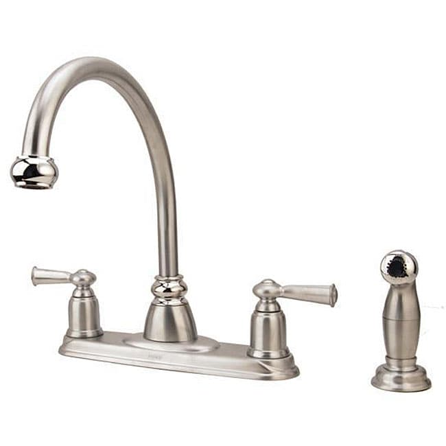 Moen Banbury Collection 2-handle Kitchen Faucet With Side