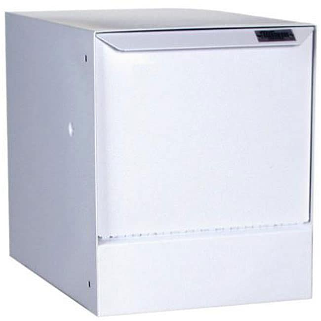 dVault White Wall-mount Package Delivery Vault