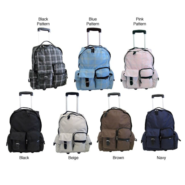 Korus Aca De Grande 19.5-inch Wheeled Backpack