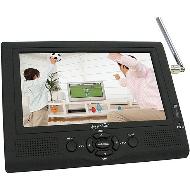 Supersonic SC-195TV 7-inch LCD Portable Digital TV