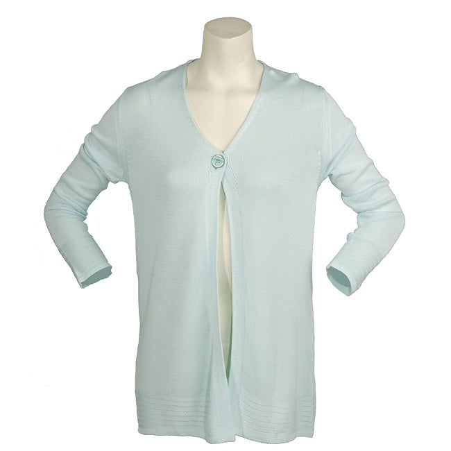 Trussardi Jeans Women's Light Blue Cardigan