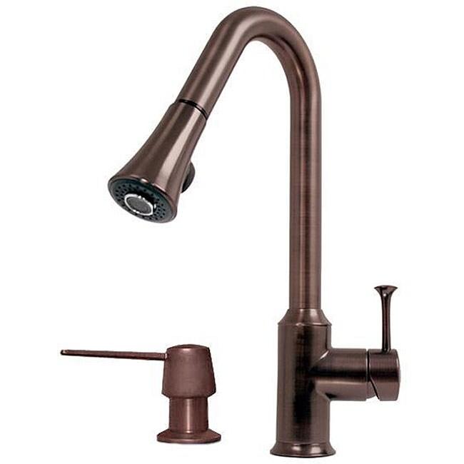 Pintah Victorian Bronze Kitchen Faucet/ Soap Dispenser