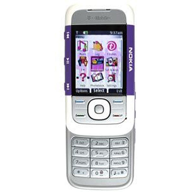 5300 Slider Purple/ White Unlocked GSM Cell Phone