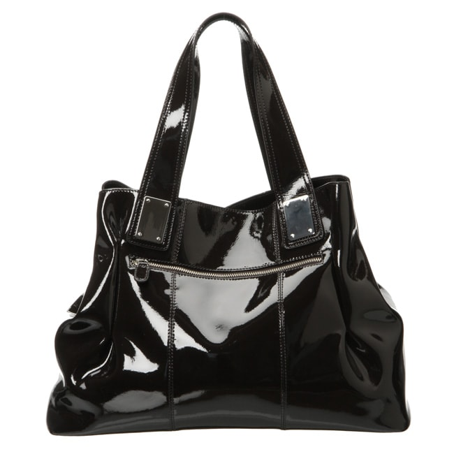 Presa 'Dorrington' Large Patent Leather Convertible Shoulder Bag