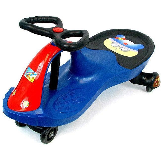 Blue Wiggle Car