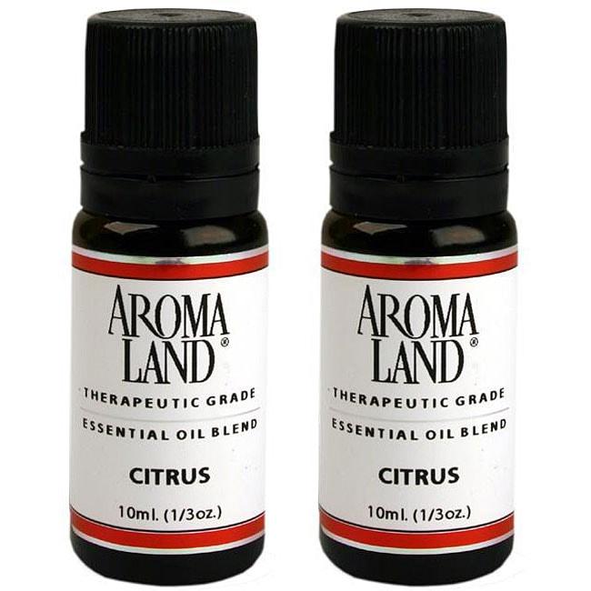 Aromaland Citrus 10 ml Essential Oil Blend (Pack of 2)