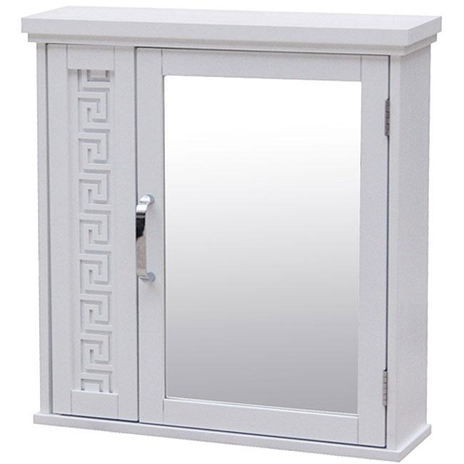 Greek Key Medicine Cabinet