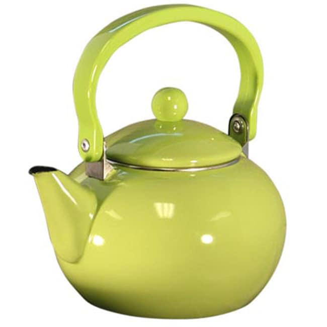 Reston lloyd calypso basics lime tea kettle 12130537 for Alpine cuisine tea kettle